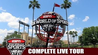 ESPN Wide World of Sports Complex Walt Disney World Full Live Tour