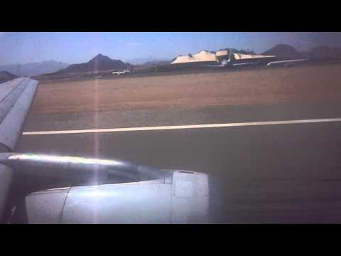 Airbus A320 Meridiana Fly - Takeoff from Sharm El-Sheikh / Decollo da Sharm El-Sheikh