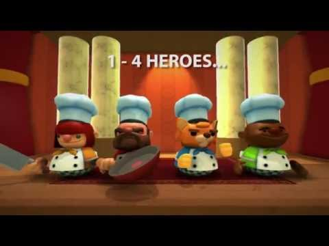 Overcooked: Co-op Chaos Trailer! (Multi-platform)