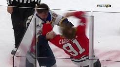 NHL Fight - Blues @ Blackhawks - 2020 03 08