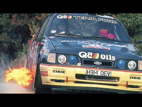Group A vs. WRC - with pure engine sounds