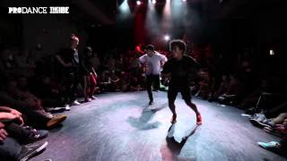 IBE 2014 | 2 on 2 Bgirl Battle Semi-Final | Angel & Bo Vs. Lil Jen & Lerok
