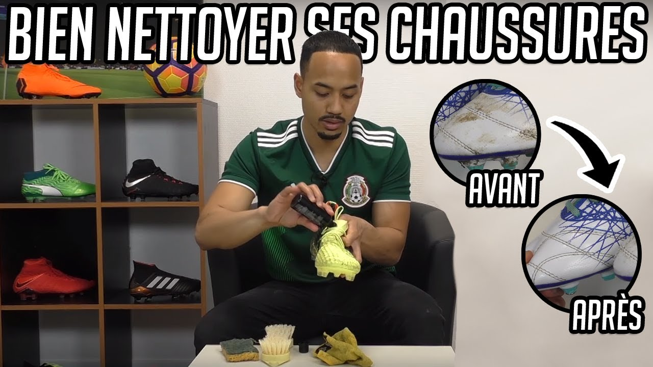 Comment Chaussures Foot Et Entretenir Youtube De Nettoyer Ses 1Brq1H
