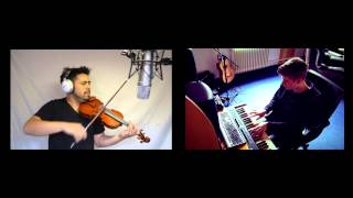 Ylvis - The Fox (Official Instrumental Cover) David Wong and MellowNightz Violin/Piano Cover