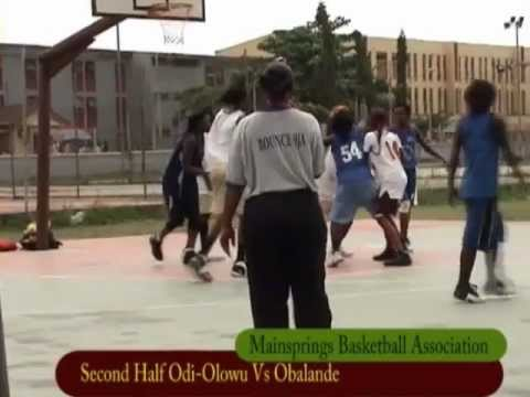 Lagos LGA Girls Basketball - Nigeria