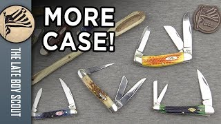 Four Fantastic Case Knives: Proven Traditional Whittlers