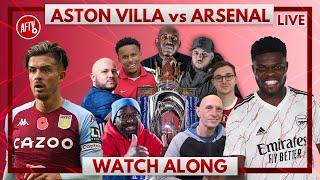 Aston Villa vs Arsenal | Watch Along Live
