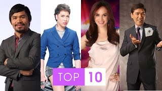Top 10 Richest Philippines Celebrities 2015