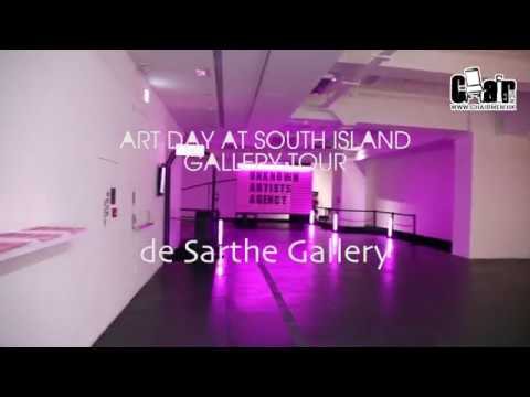 Art Day at South Island: de Sarthe Gallery