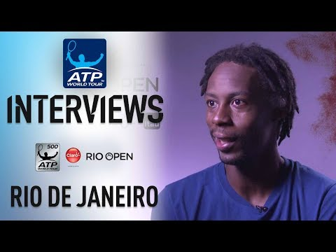 Monfils Ready For Cilic Following Opening Round Win