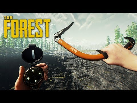 CHAINSAW & CLIMBING AXE!! (The Forest)