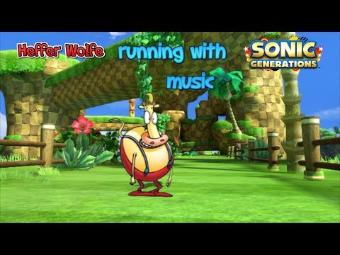 Heffer Wolfe Running With Sonic Generations Music