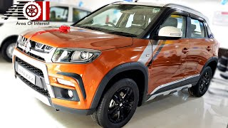 Maruti Suzuki Vitara Brezza AMT | Accessories with Price List | Mileage | Features | Specs | ZDI+