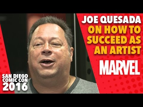 Joe Quesada on How to Succeed as an Artist on Marvel LIVE! at San Diego Comic-Con 2016