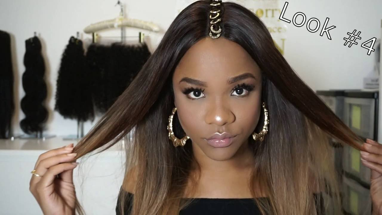 M Style Hair Ss15: 4 Easy Festival Hair Styles With A Lace Closure Wig