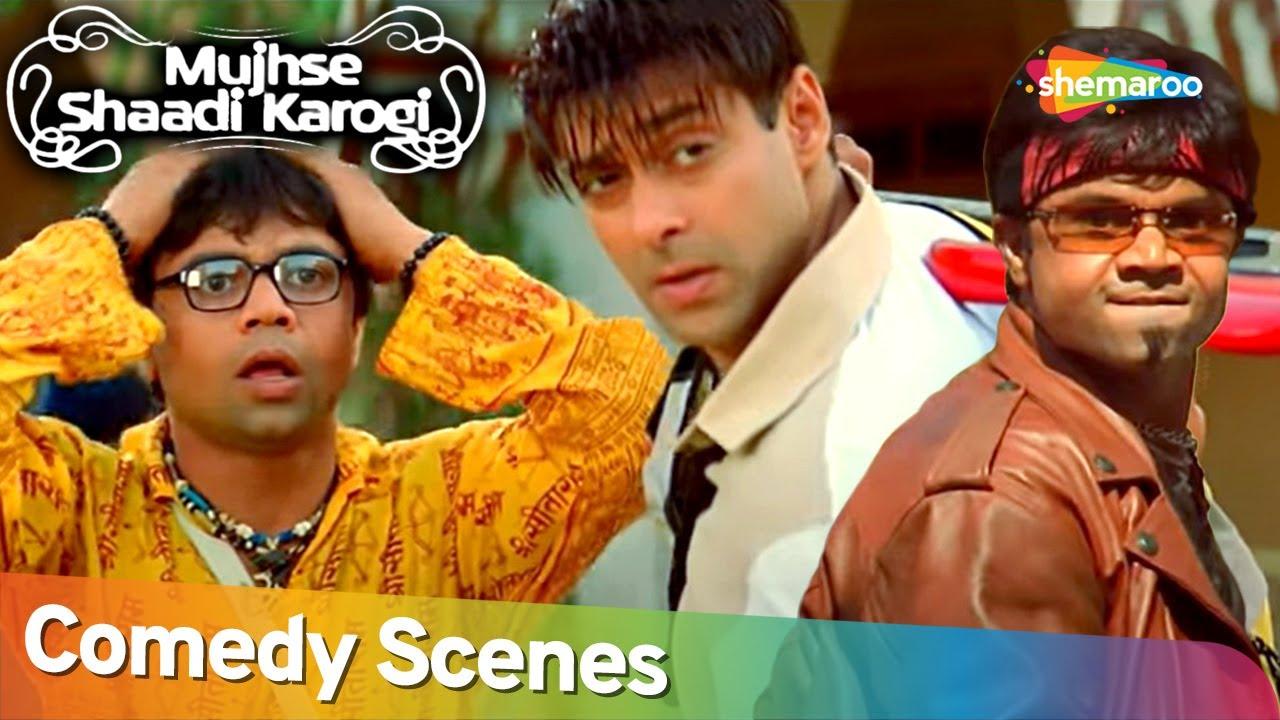 Best Comedy Scenes   Superhit Movie Mujhse Shaadi Karogi   Rajpal Yadav - Akshay Kumar - Kader Khan