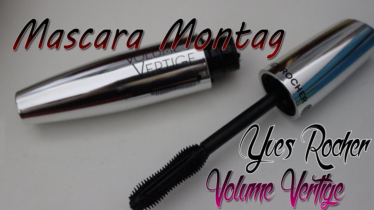 Exceptionnel Mascara Montag] Yves Rocher Volume Vertige - YouTube BS64