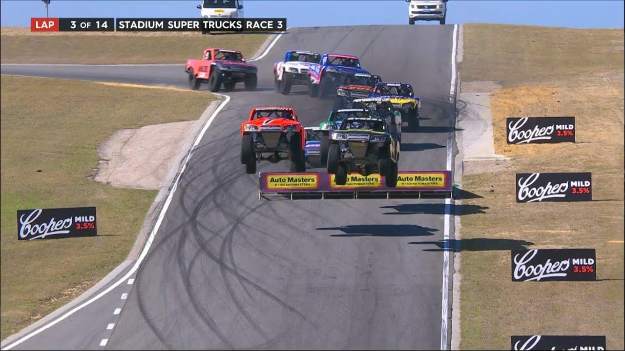 2017 Perth Race 3  Stadium SUPER Trucks