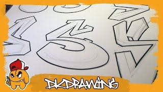 Graffiti Alphabets Letter S - Buchstabe S - Letra S