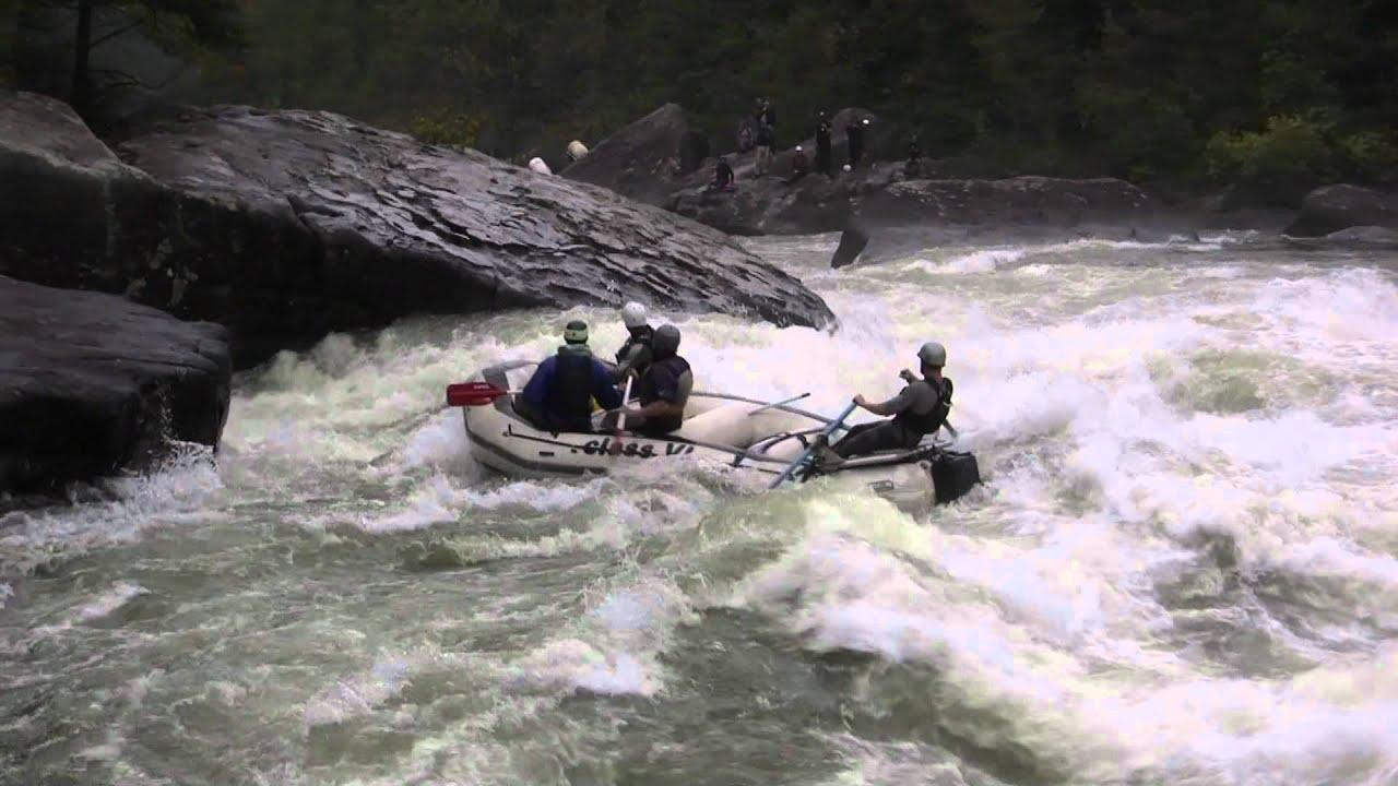 4700 cfs  Pillow Rock Rapid Upper Gauley River  YouTube