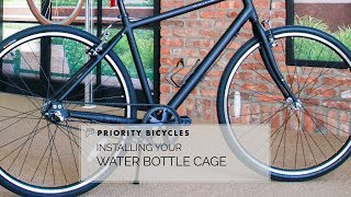 Priority Bicycles - Install Water Bottle Cage