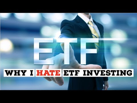 WHY I HATE ETF INVESTING: The biggest risk factor to ETF investing