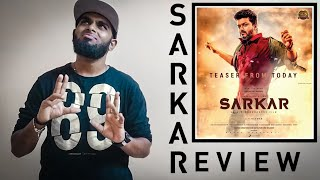 Sarkar Movie Review - Thalapathy Vijay | AR. Murugadoss | Enowaytion Plus | A Blockbuster For Vijay?