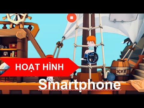 CÁCH LÀM PHIM HOẠT HÌNH ĐƠN GIẢN TRÊN ĐIỆN THOẠI. (make cartoon on smartphone.)