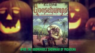 Ranking All 62 Original Goosebumps Covers
