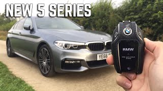Reviewing The New 2017 BMW 5 Series 520d
