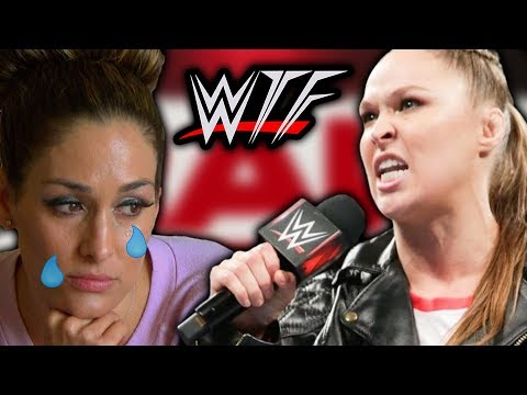 WWE RAW WTF Moments (15 October) | Ronda Rousey ENDS Nikki Bella