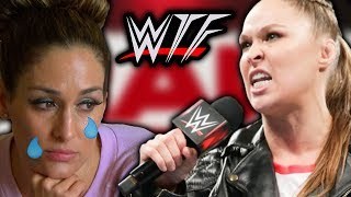 WWE RAW WTF Moments (15 October) | Ronda Rousey ENDS Nikki Bella's Life