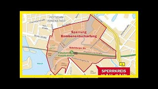 Bombenentschärfung am hauptbahnhof: potsdam wird lahmgelegt - neueste nachrichten aus potsdam