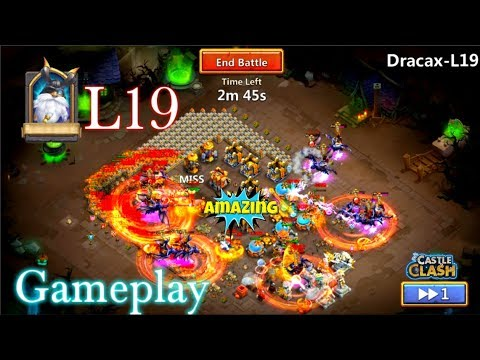 Heroes Trial L19 Gameplay Epic Heroes!! Castle Clash
