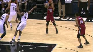 Shabazz Napier Puts in Work vs. Spurs