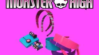 monster high tapeffiti headband kit