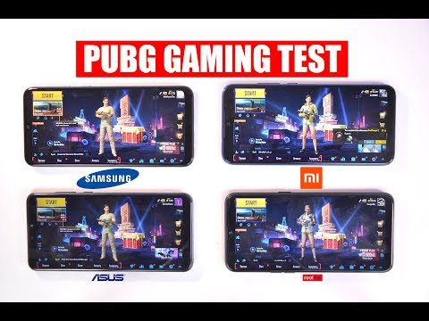 Redmi Note 7 Pro Vs Realme 3 Vs Samsung Galaxy M30 Vs Asus Zenfone Max Pro M2 - PUBG Gaming Test 🔥
