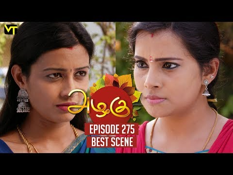 The 'DEAL' of Poorna and Sudha | Azhagu Episode 275 | Best Scene | Vision Time