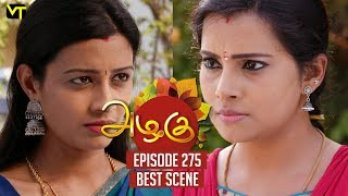 The DEAL Of Poorna And Sudha  Azhagu Episode 275  Best Scene  Vision Time