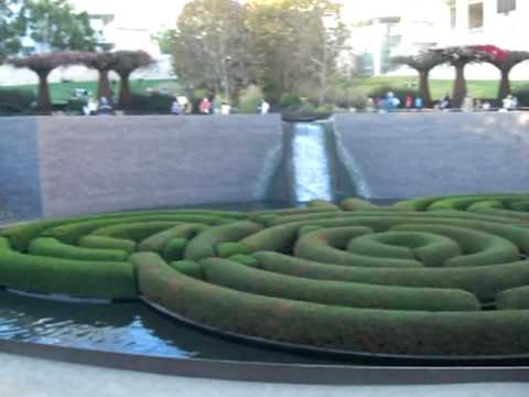 The Getty Museum, Los Angeles, California (garden area)