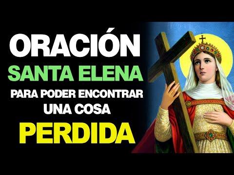 🙏 Oración a Santa Elena de la Cruz para ENCONTRAR COSAS PERDIDAS 😥