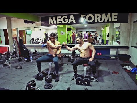 Monster Workout Motivation - Hicham Mallouli & Moatamid Fit Jikh - Fitness (Gym Mega Forme)