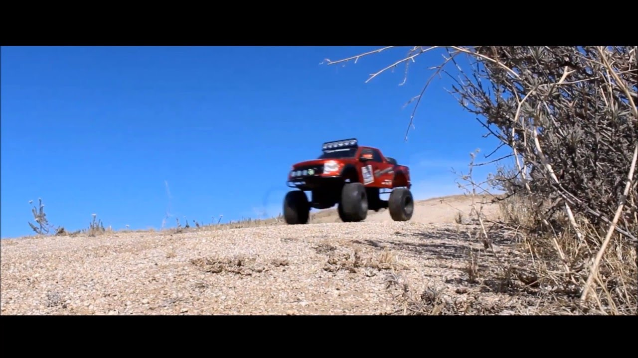New Bright RC 1:6 Ford Raptor: Offroad Pre-running Alta Cresta HD
