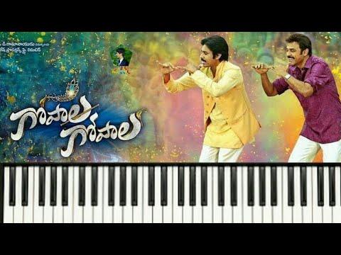 Gopala Gopala || Bhaje Bhaaje Song keyboard || Venkatesh Daggubati, Pawan Kalyan, Shriya Saran
