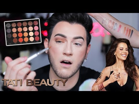 TATI BEAUTY REVIEW! Whats the Tea with Tati Westbrook Makeup thumbnail