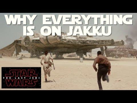 The real reason EVERYTHING was on Jakku (Rey, Lor San Tekka & Millennium Falcon)