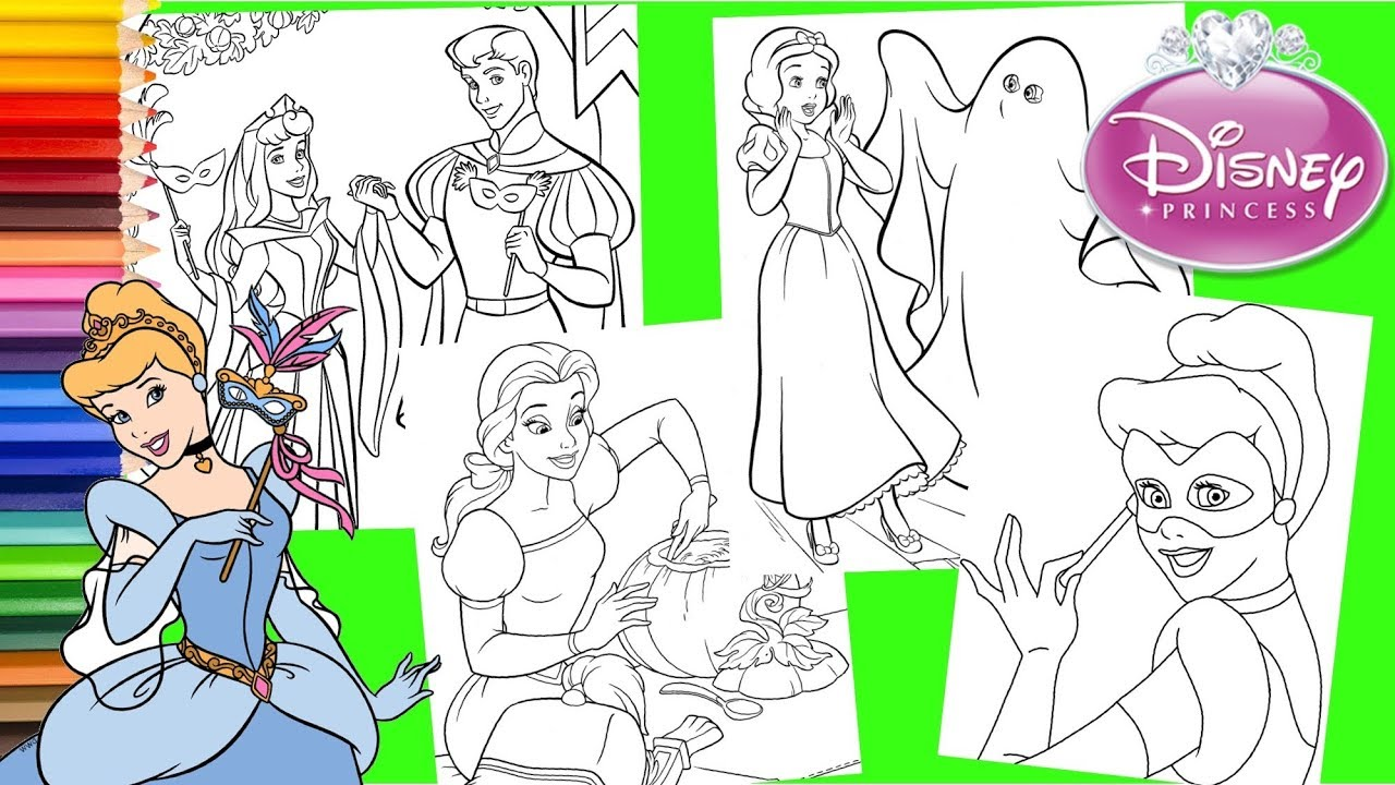 Disney Halloween Coloring Pages | Disneyclips.com | 720x1280
