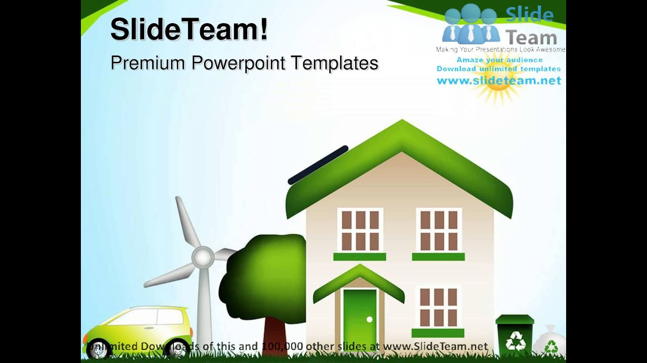 powerpoint templates free download environment image