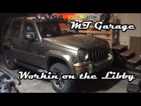 Jeep Liberty Upper Control Arm Ball Joint Replacement Youtube
