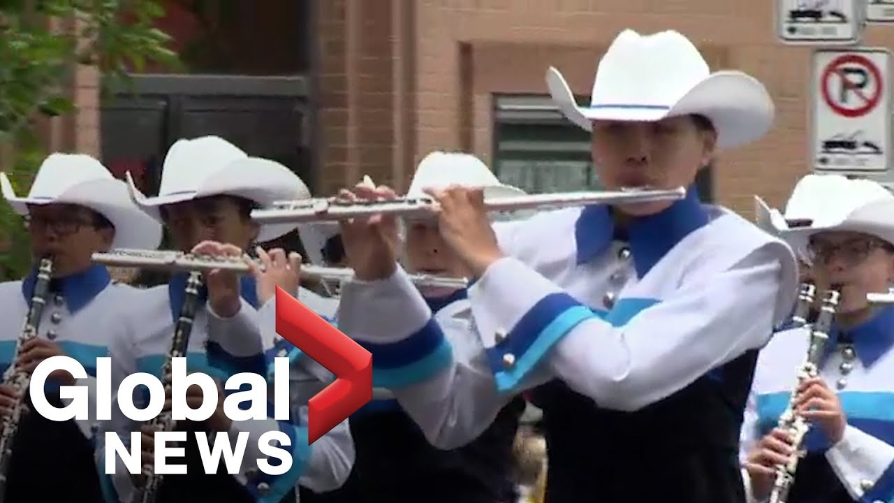 Calgary Stampede Parade: Marching bands highlights